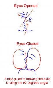 Drawn kisses lip Sketch Kiss Step to Anime