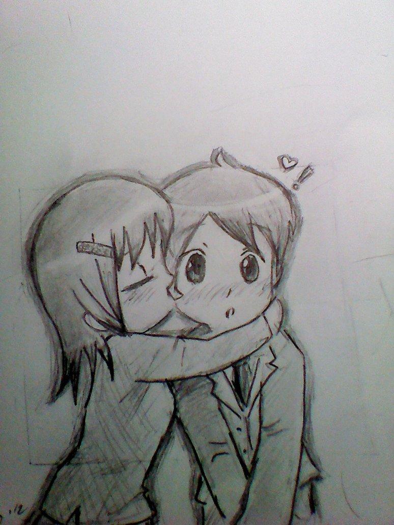 Drawn love Odd Drawings  Love Cute