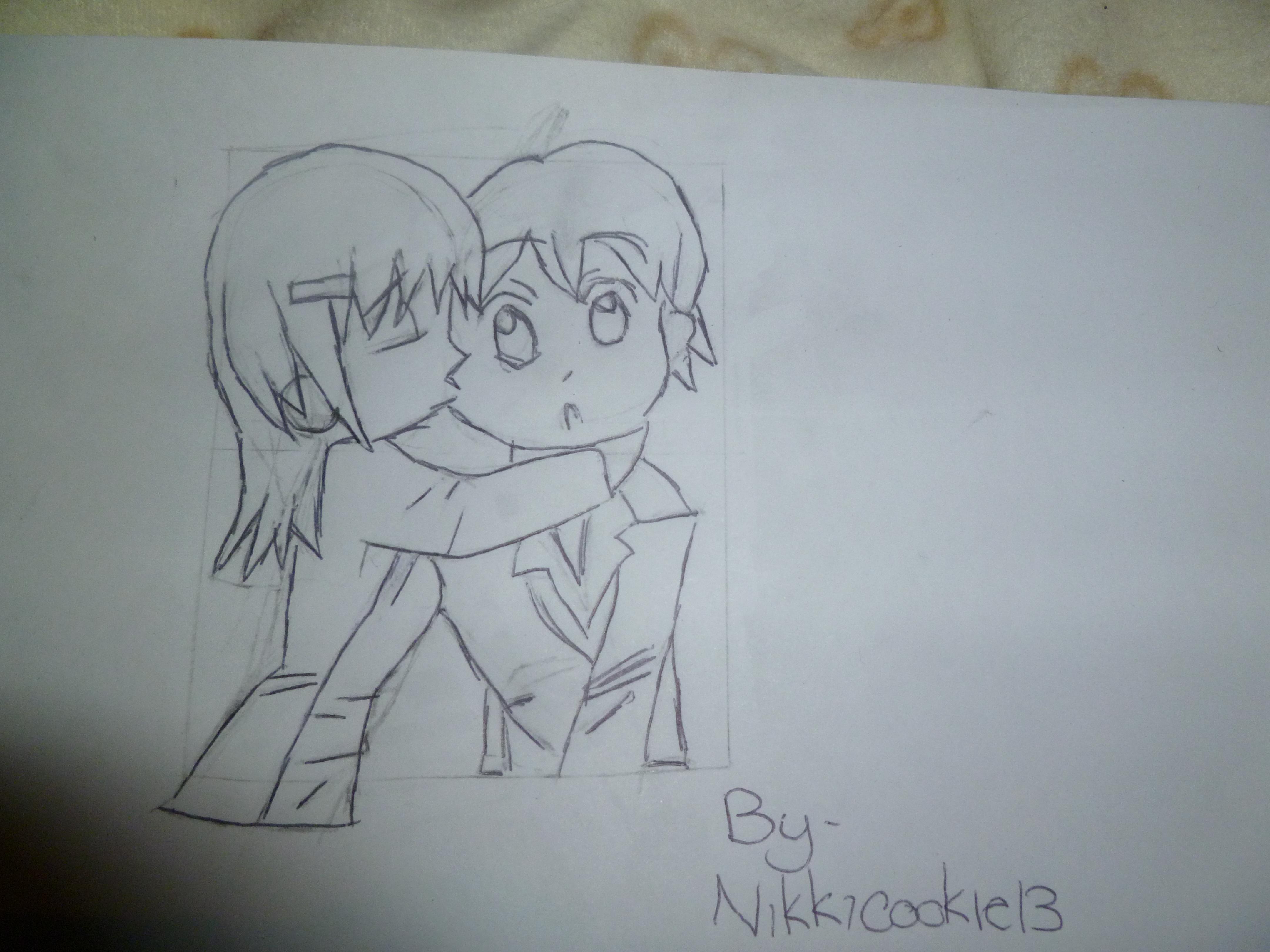 Drawn kisses markcrilley Crilley nikkicookie13 Crilley Credits Drawing