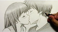 Drawn kisses markcrilley [HTD markcrilley Draw YouTube #2]