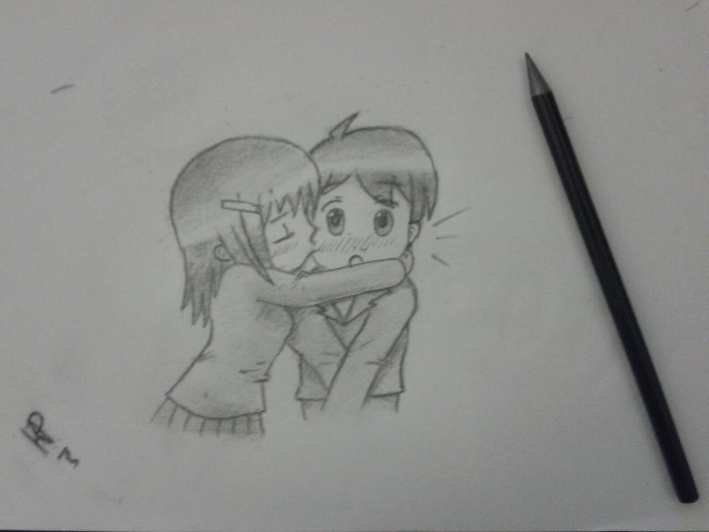 Drawn kisses markcrilley By Ki Kiss ~ by