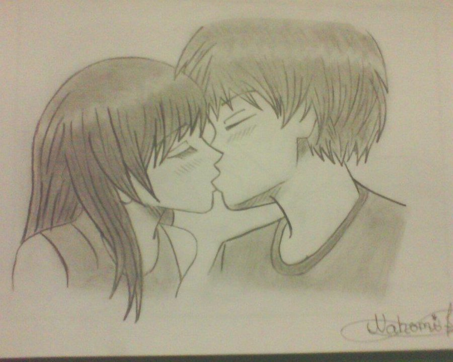 Drawn kisses markcrilley By on by Mark AssassinNahomy