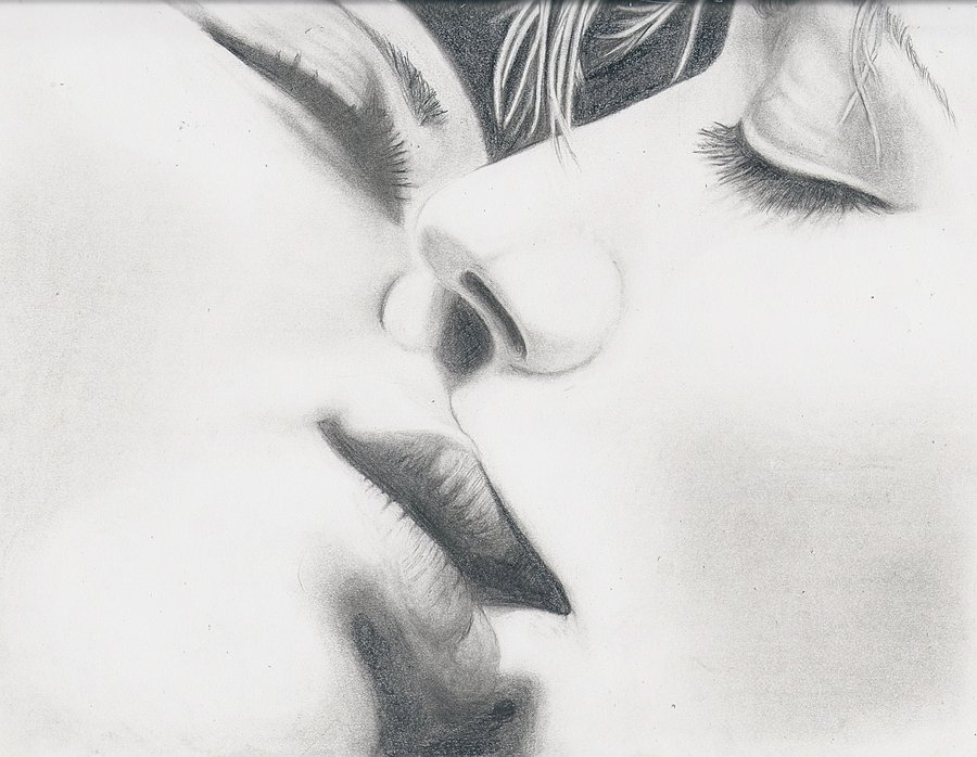 Drawn kisses realistic Kisses Drawing wonder by ArtDrawing