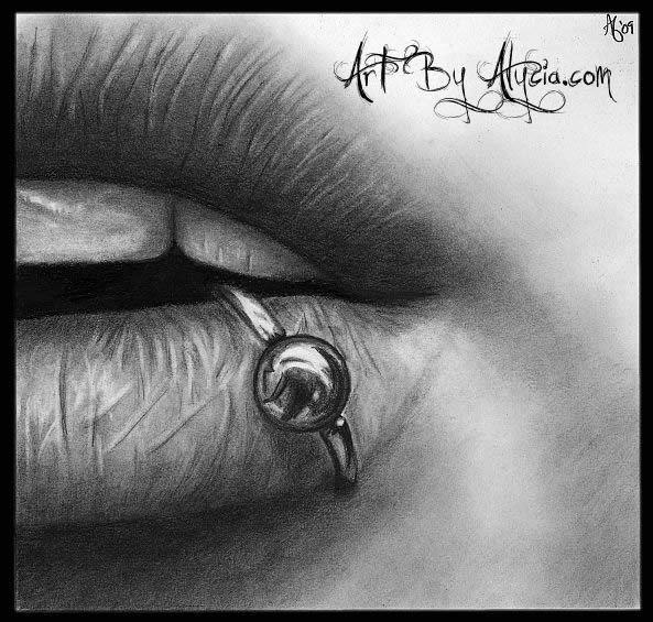 Drawn kisses realistic Lips Draw Photo Photo lips