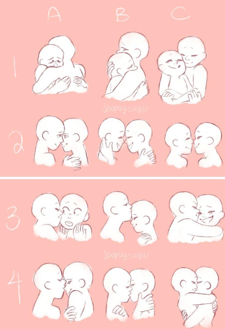 Drawn kisses reference Drawing Pin drawing Find Kissing