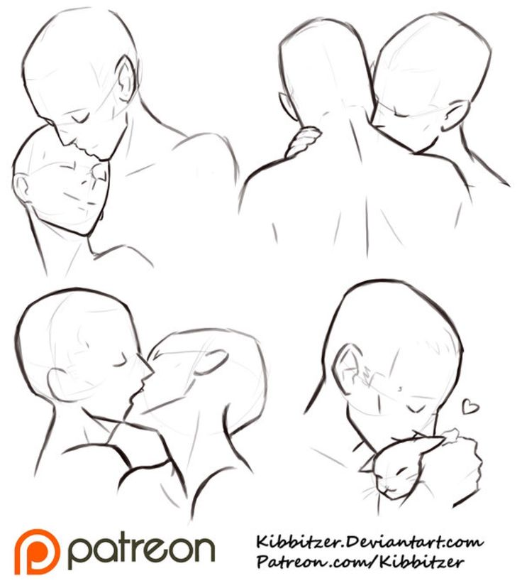 Drawn kisses reference On Sheet drawing Kisses Kissing