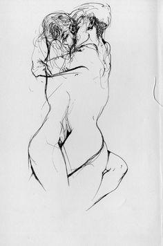 Drawn kisses sensual Sensuality de Fotos Beautiful de