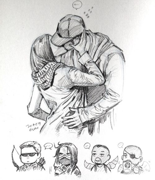 Drawn kisses soldier Soldier Captain Captain 25+ Black