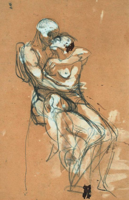 Drawn kisses victory Kisses about images The Rodin