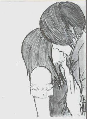 Drawn kisses Ideas Emo Pinterest on 25+