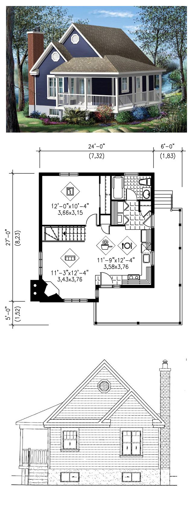 Drawn bedroom dining area 25+ House house Pinterest Plan