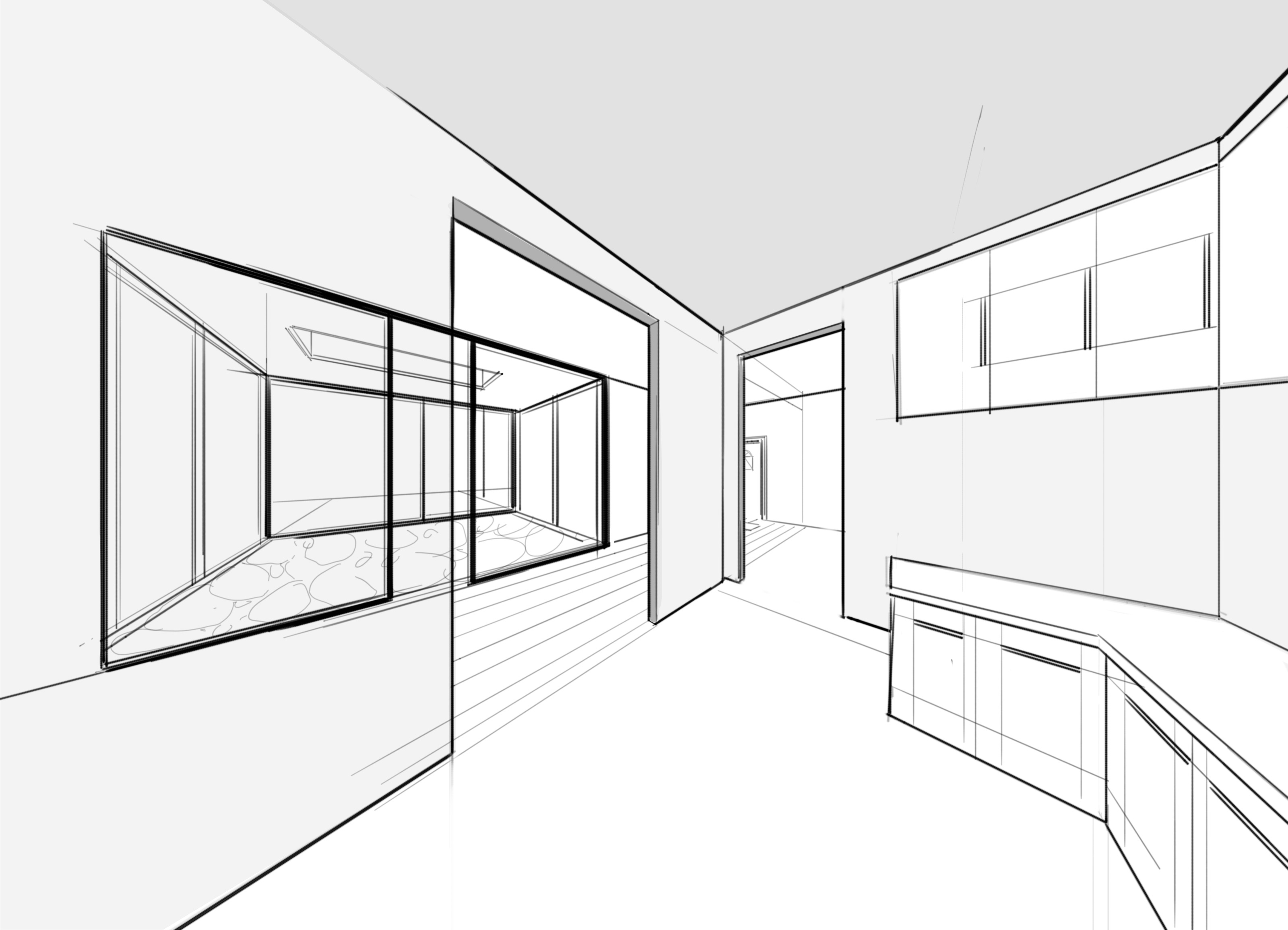 Drawn room easy Two of a from Beautiful