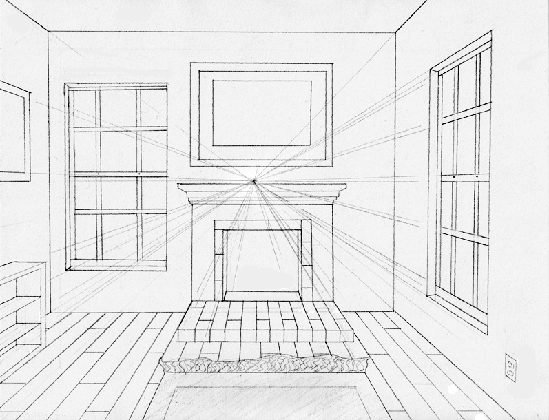 Drawn room 1 pt Of Elements Elements a perspective