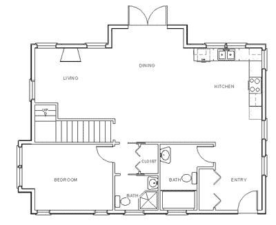 Drawn hosue location plan Plan How Step Floor Floor