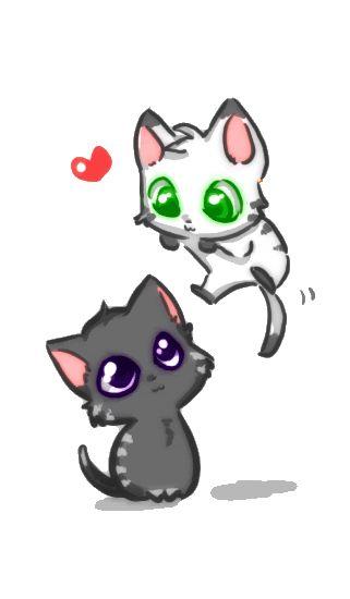 Drawn puppy cute anime kitty Kitties anime 25+ Anime Best