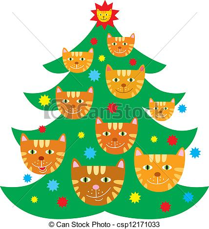 Christmas Tree clipart logo Search with Christmas of decorated