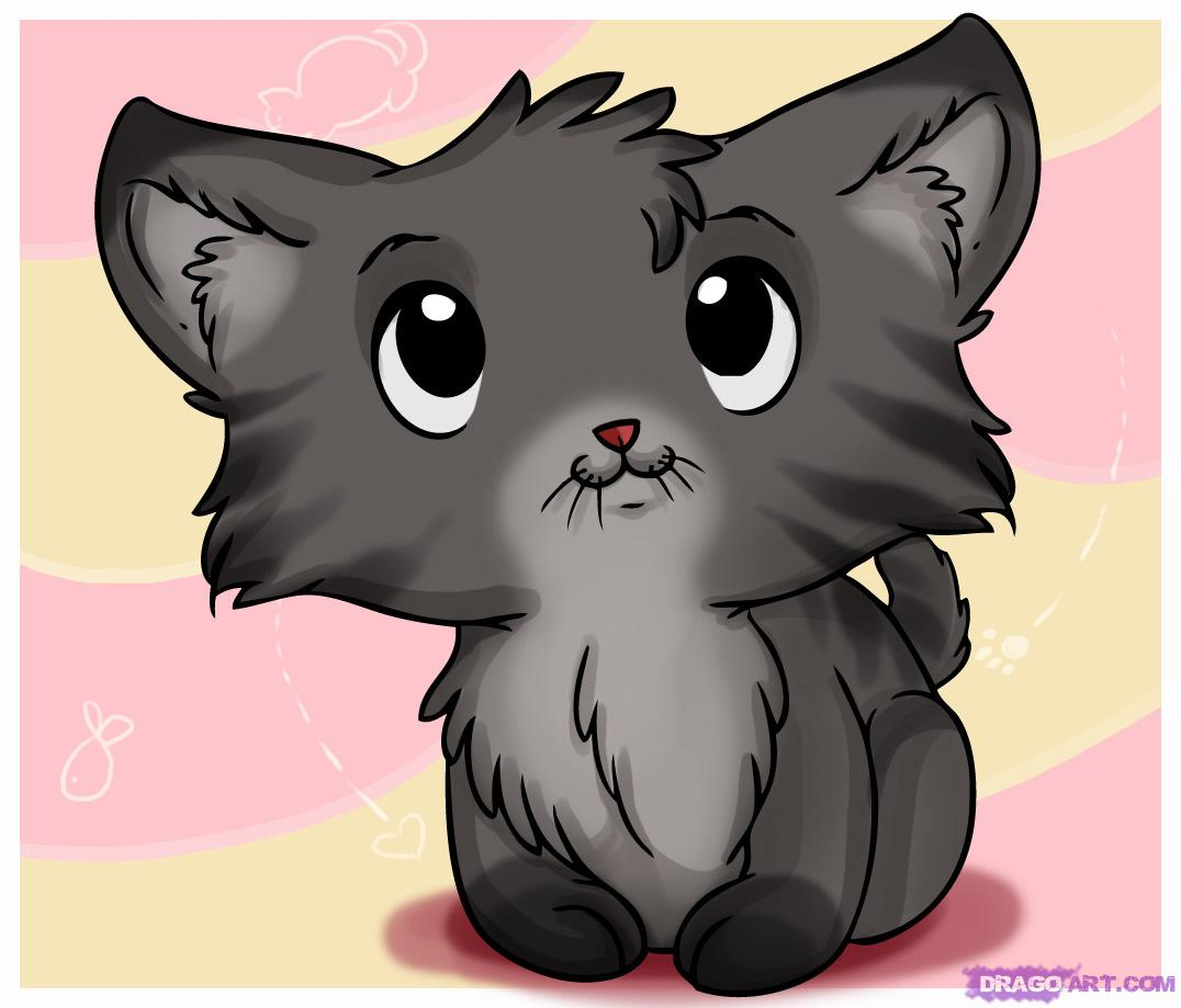 Drawn puppy cute anime kitty To how FREE Pets to