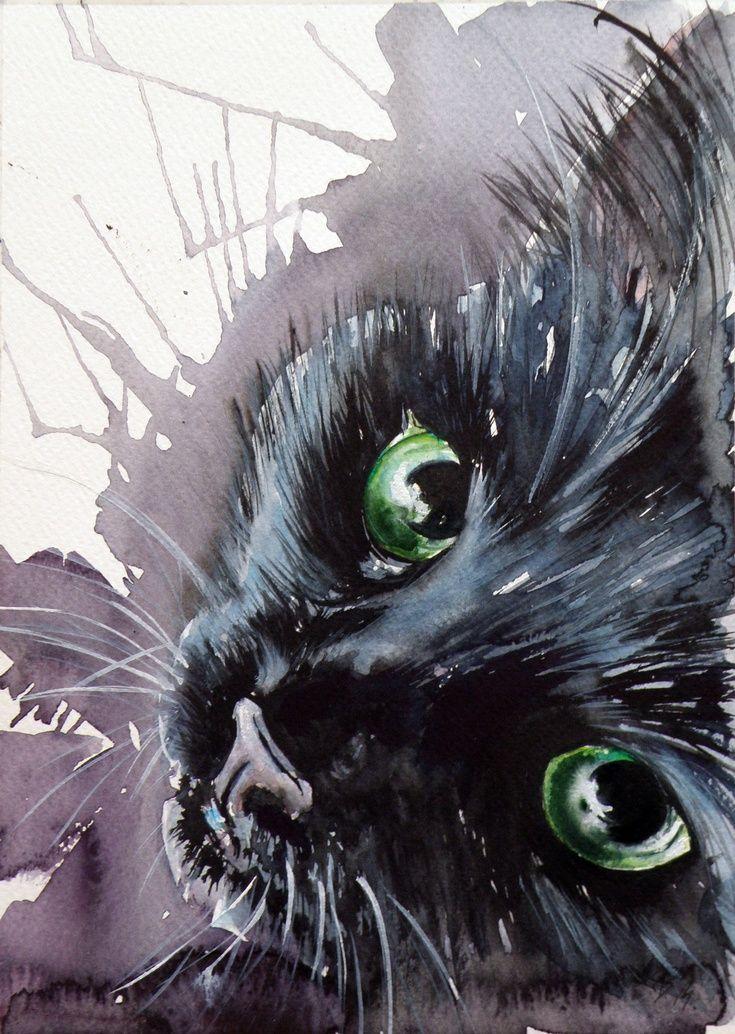 Drawn still life cat On Pinterest >^ Cat ~ART