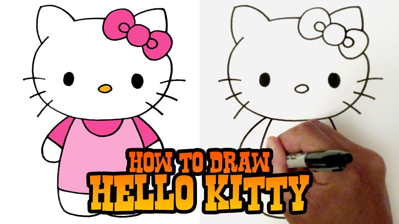 Drawn amd hello kitty Kitty Hello Hello Video Draw