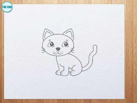 Drawn kittens YouTube kitten a to draw
