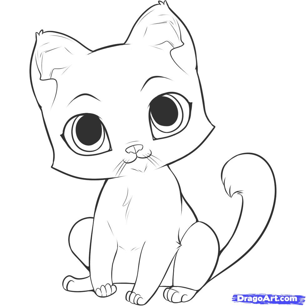 Drawn kittens Google cartoon Pinterest kittens Google