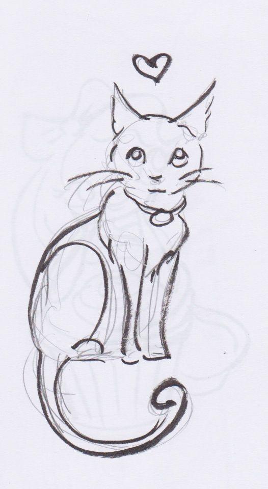 Drawn kittens Ideas tattoo Kitten Best 25+