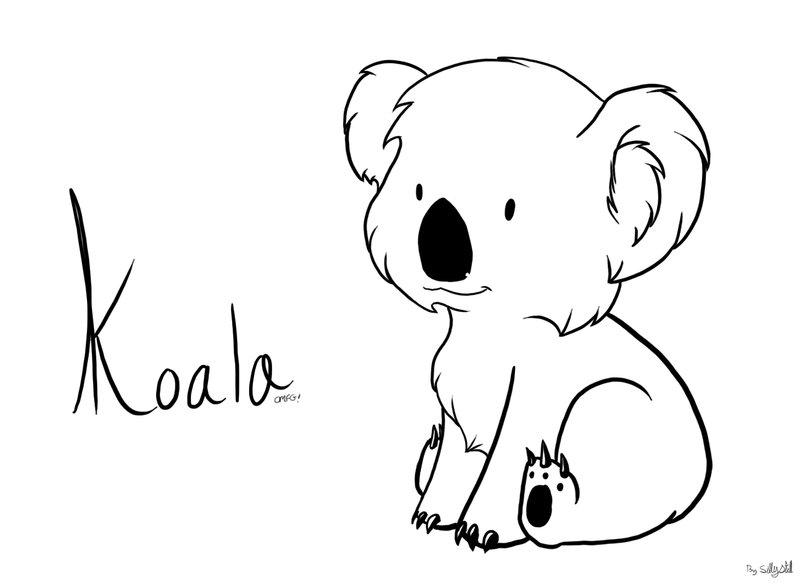 Drawn koala Bear Koala Bear photo#2 Drawing