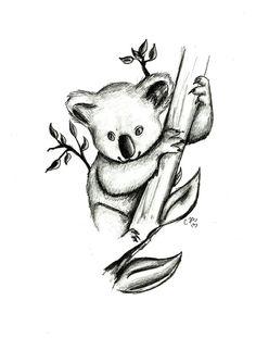 Drawn koala Awww DeviantArt drawing Drawings koala