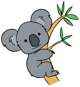 Drawn koala Ideas Cute Free Best Clip