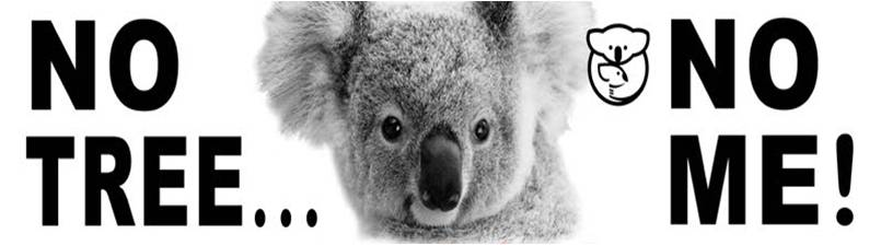 Drawn koala endangered animal #5