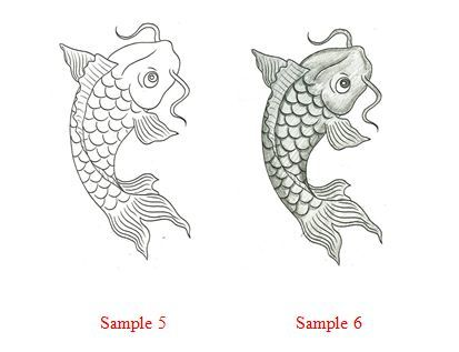 Drawn koi fish Pinterest to Draw a 30