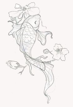 Drawn koi fish Koi  this Pin Search