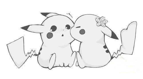 Drawn kiss cartoon  couple cute cartoon cute