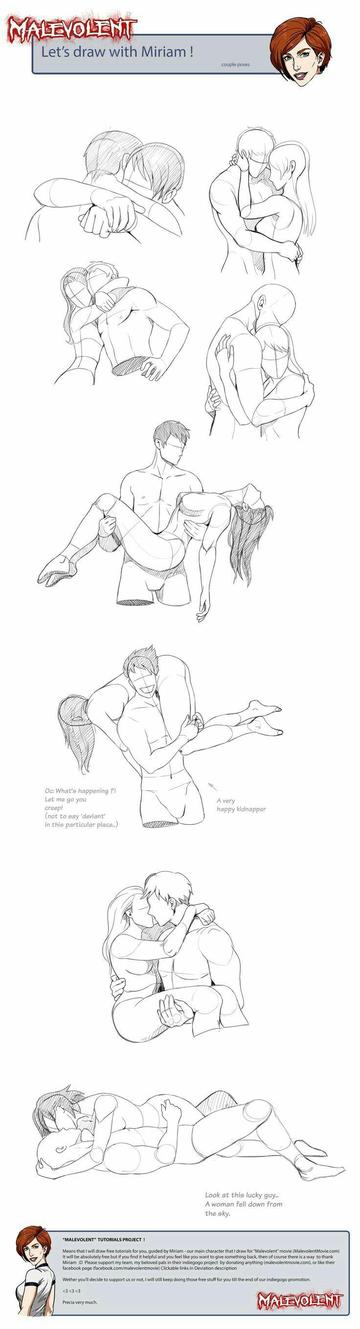 Drawn hug two person Comics People to hugging How