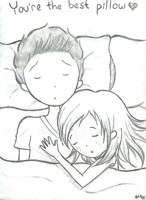 Drawn kopel sleeping Sleep best Black and Black