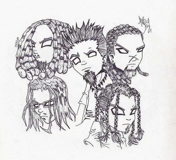 Drawn korn #2