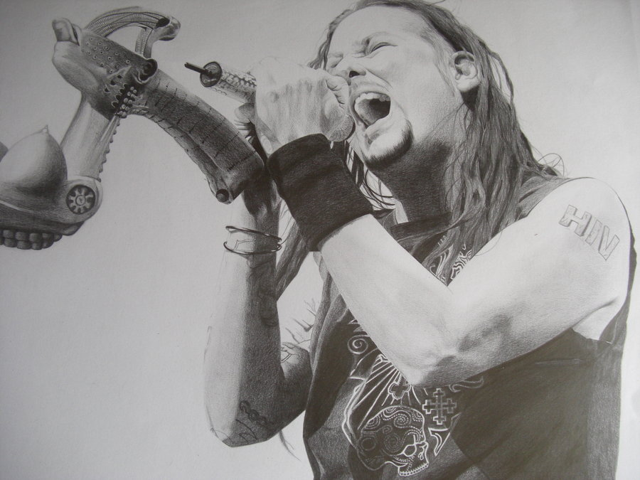Drawn korn #8