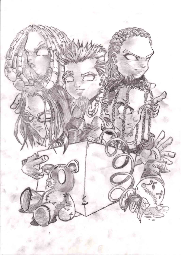 Drawn korn #6