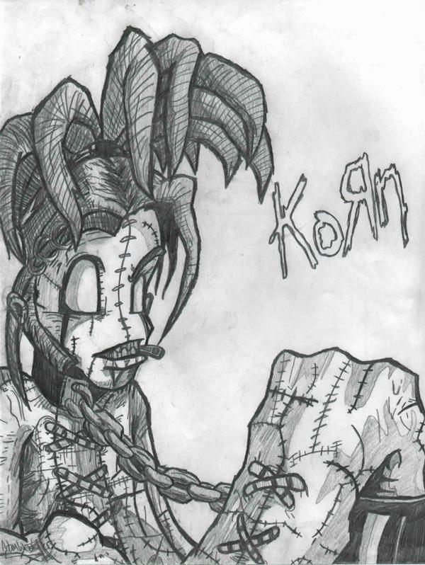 Drawn korn Soul DeviantArt KoRn tempest by