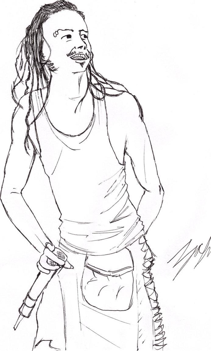 Drawn korn By on Jonathan loveitordie Korn