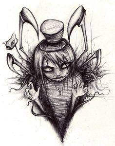 Drawn korn Korn and Korn tattoo art