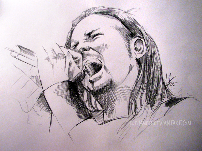 Drawn korn #14