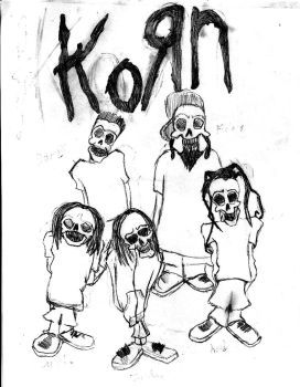 Drawn korn black and white 0 Untouchables by DeviantArt korn