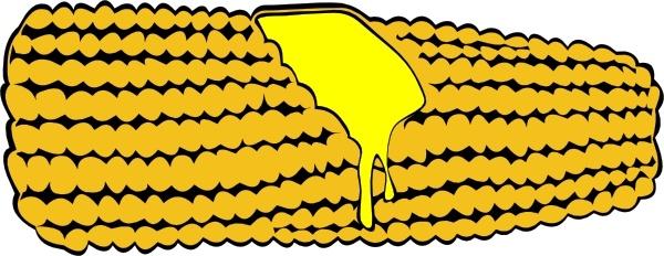 Drawn korn cob clip art Open Corn The art Corn