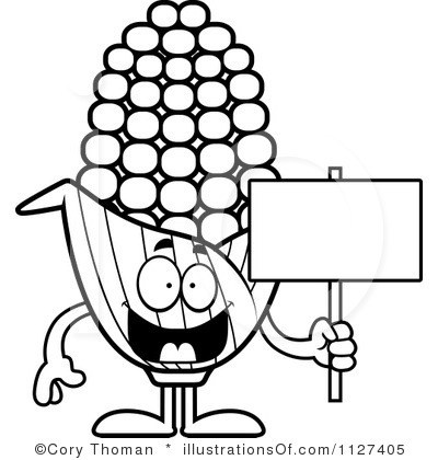 Drawn korn cob clip art Tiny #187 Corn Corn Clipart