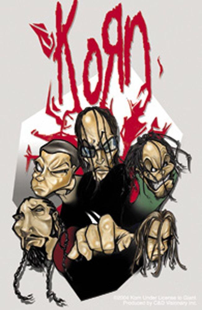 Drawn korn cute cartoon Heads Metal Cartoon Korn