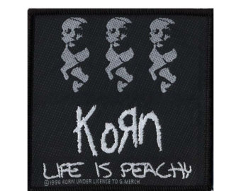 Drawn korn vintage 'Life Korn Peachy' vintage patch