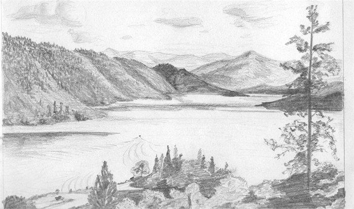 Drawn lake Testsite