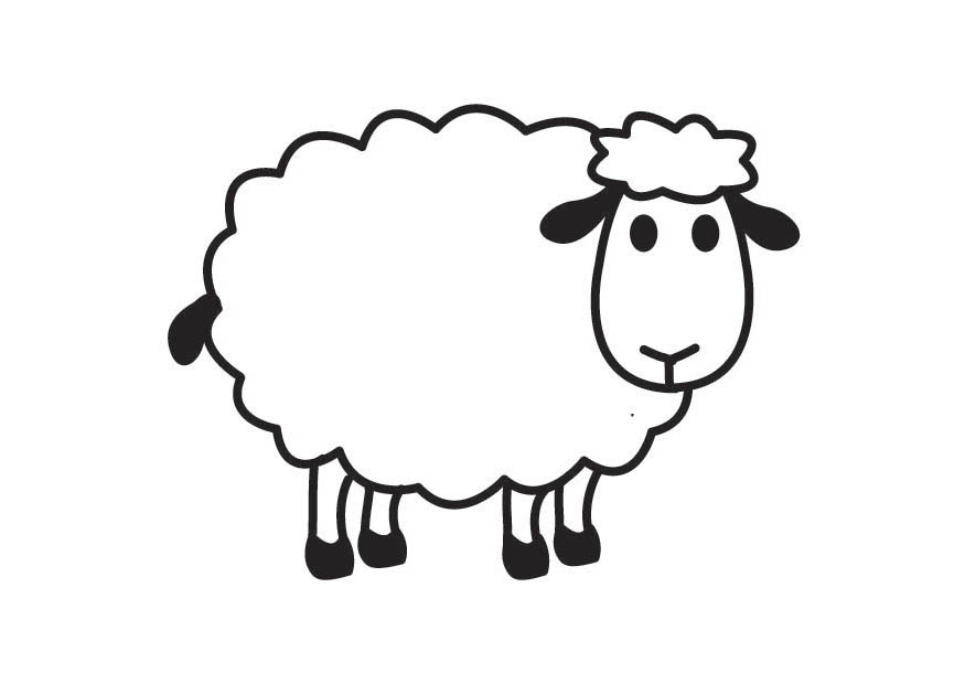 Simple clipart sheep O Draw A Wallpapers Sheep