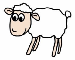Drawn lamb #9